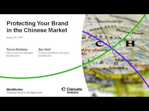 Protecting Your Brand in the Chinese Market