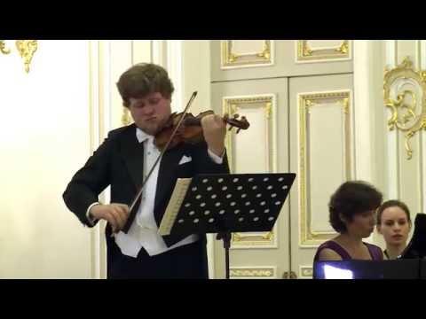 """Andrey Baranov - Inga Dzektser - Beethoven """"Kreutzer"""" Sonata - 1st mvt."""