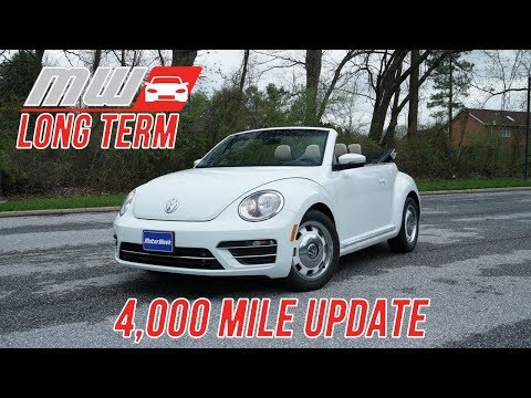 Long Term Update: 2018 Volkswagen Beetle Convertible (4,000 miles)