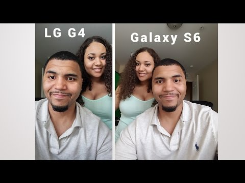 Galaxy S6 Vs LG G4 Camera | Image Quality & Video |