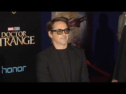 "Robert Downey Jr. ""Doctor Strange"" World Premiere Red Carpet"