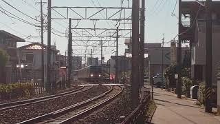 名鉄瀬戸線4000系4016F普通尾張瀬戸行小幡1番線到着