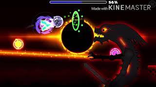 Darkness Keeper 100%, my first hard demon on phone GG