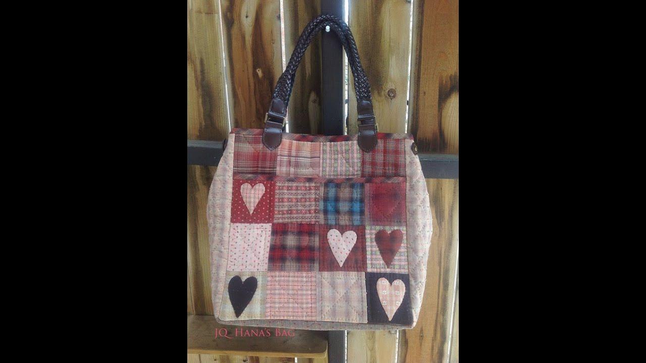 Hana's Bag - A Skill Stitching pocket Quilt Bag Quilting a Bag ... : quilting tote - Adamdwight.com
