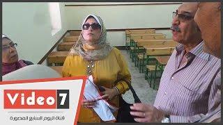 بالفيديو.. رئيس حى العجوزة لمدير مدرسة