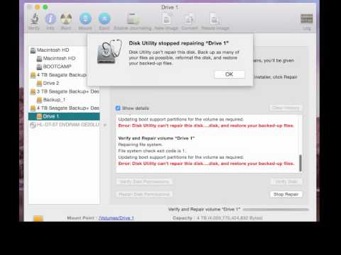 Easy Fix: Mac: External Drive Not Ejected Properly