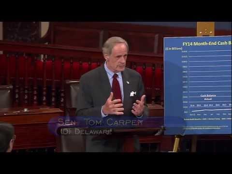 Senator Carper Addresses Senate on Postal Reform