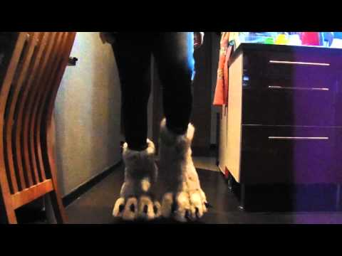 Digitigrade werewolf legs test