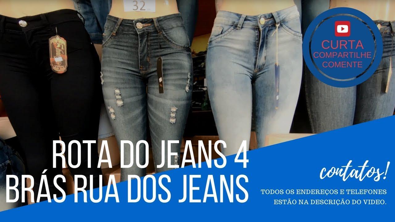 a0917ee2b ROTA DO JEANS 4| ATACADO NO BRÁS | RUA DOS JEANS - YouTube