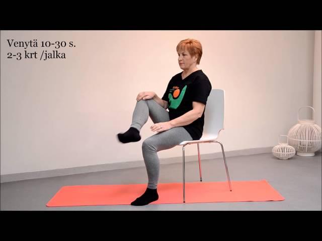 video 9 Pakaran venytys istuen