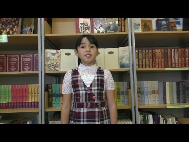 Мухамад-Ризаева Альбина читает произведение «Розы» (Бунин Иван Алексеевич)