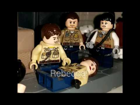Lego ResiDent Evil S.T.A.R.S. escape from the Mansion