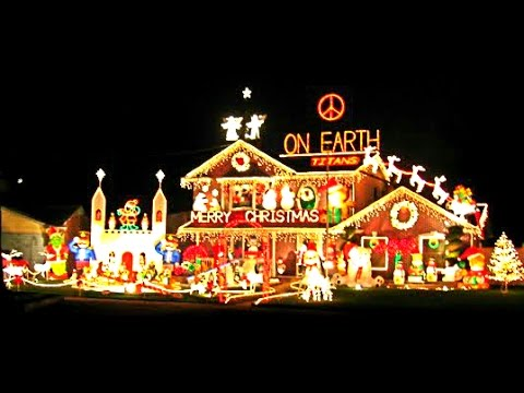 The Worlds Largest Christmas Light Display - The Worlds Largest Christmas Light Display - YouTube