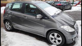 осмотр Mercedes W169 2008. Мерседес A150 из Германии за 445 000 руб