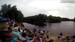 видео В Югре прошли международные соревнования по гребле на обласах // ФОТО