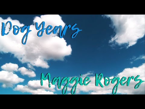 Chords For Dog Years Lyric Video Maggie Rogers