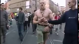 Techno Viking dances to Alice Deejay Better Off Alone!