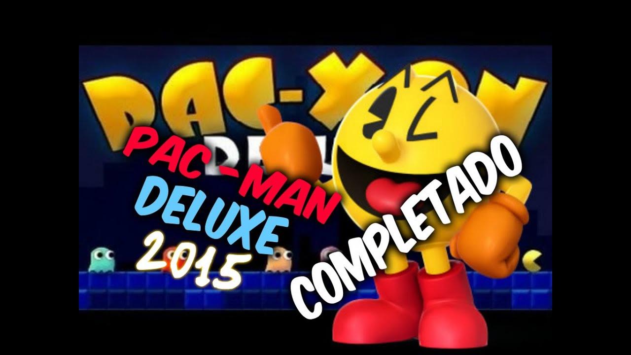 Pac Man Deluxe Juegos Friv 2015 Completado Youtube
