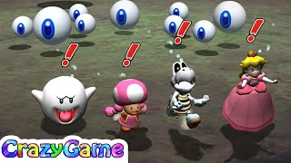 Mario Party 8 - All Tricky Minigames Gameplay