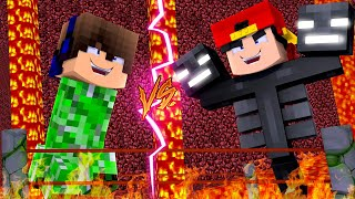 Minecraft - BUT WE MORPH INTO MOBS AND Fight to the Death