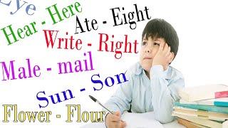 Belajar Homophone Bahasa Inggris