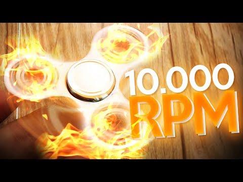 FIDGET SPINNERS A 10.000 RPM CHOCANDO | SPINZ.IO