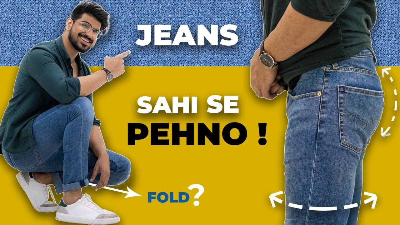 7 JEANS RULES | Perfect Jeans Fitting for MEN | Denim | Jeans Guide Men | Sahil Gera