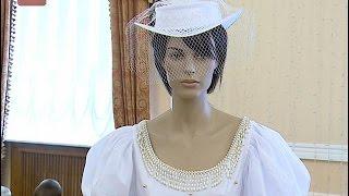 В филармонии впервые работала уникальная выставка свадебной моды