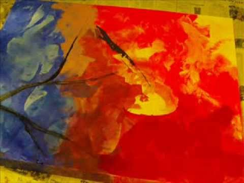 Speedpainting – Abstrakte Malerei unplugged