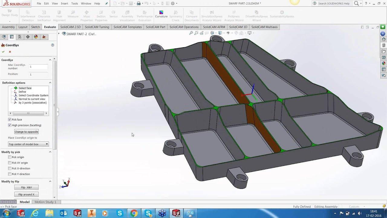 Machining Aero Frame Part with iMachining 3D, Sim5x & SWARF
