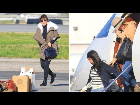 Khloe Kardashian Brings Kourtney Kardashian and Kris Jenner to Support Tristan ...
