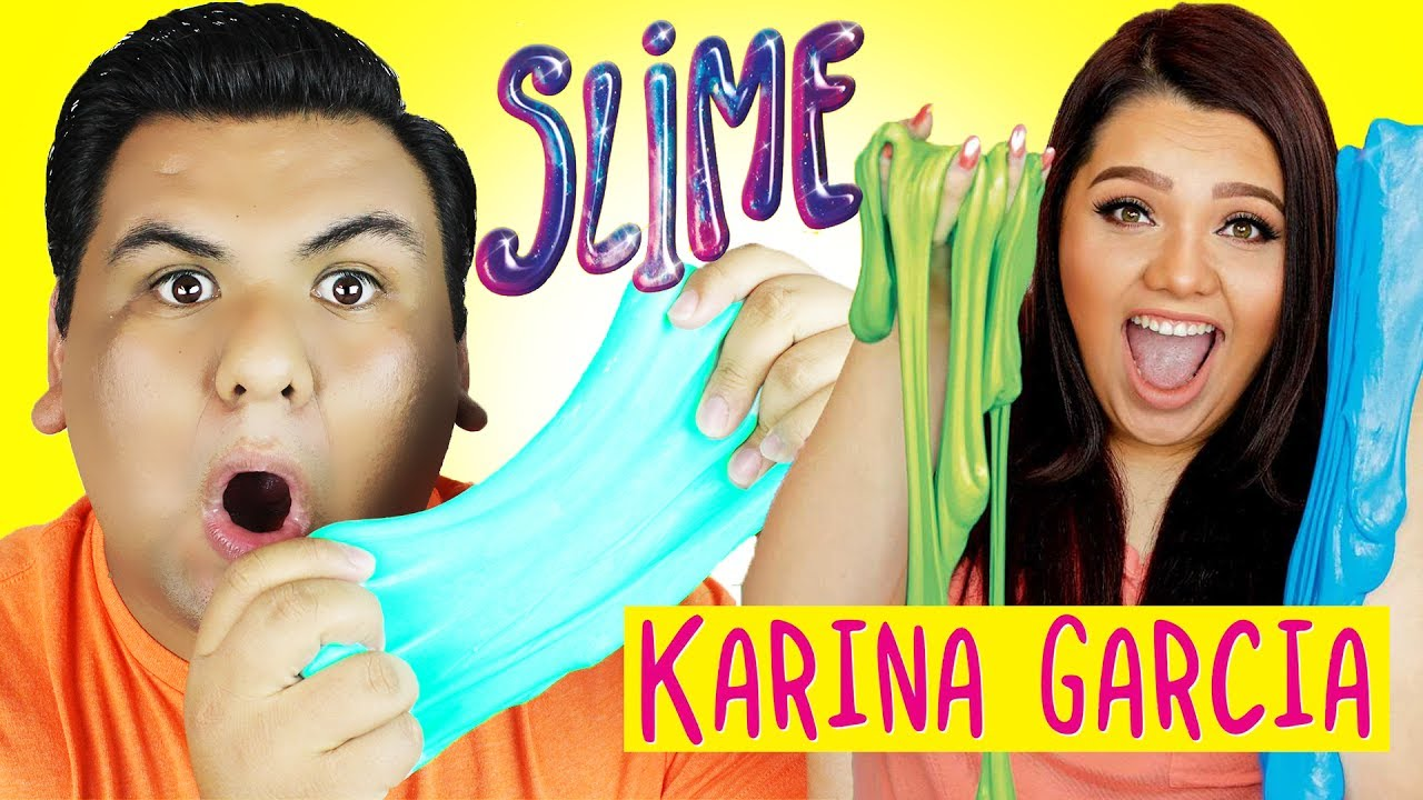 Testing Karina Garcia Slime Recipes!!! How To Make Slime Without Borax!!!