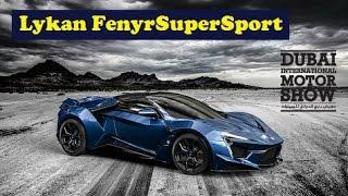 Gambar cover New Lykan Fenyr SuperSport, revealed at the 2015 Dubai Motor Show