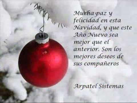Feliz navidad y prospero a o nuevo 2014 youtube - Textos de felicitaciones de navidad y ano nuevo ...