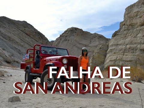 CONHEÇA A FALHA DE SAN ANDREAS COM A RED JEEP ADVENTURES