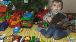 Машинки мультфильм – Машинки для детей.  315 МАШИНОК обзор машинок Леша показывает все свои машинки