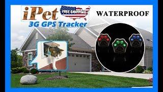 Pet GPS Tracker Dog Cat Anti-lost 3G