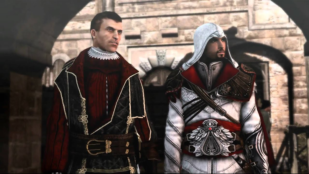 Assassin 39 s creed brotherhood machiavelli borgia towers youtube - Assassin s creed pictures ...
