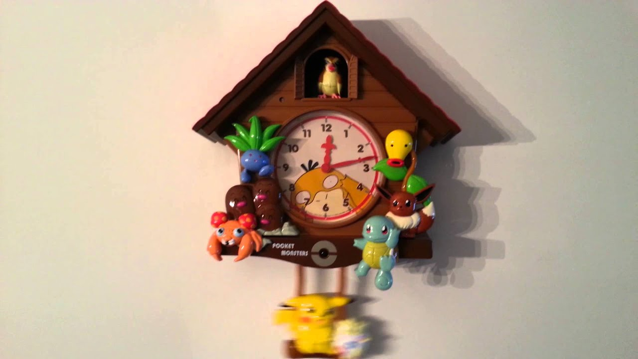 Pokemon Cuckoo Clock Youtube
