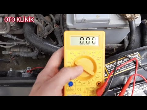 Şarj Dinamosu Arızası - Alternatör - Konjektör Arızası - Akü Şarj Sorunu - Car Alternator Fixing