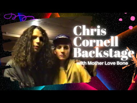 Chris Cornell backstage with Andrew Wood [ Part 2 ]