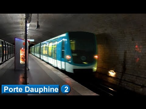 Métro de Paris : Porte Dauphine | Ligne 2 ( RATP MF01 )