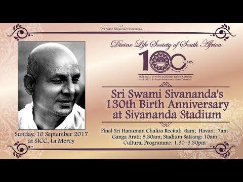 10 Sep 2017: Sri Swami Sivananda's 130th Birth Anniversary at Sivananda Stadium