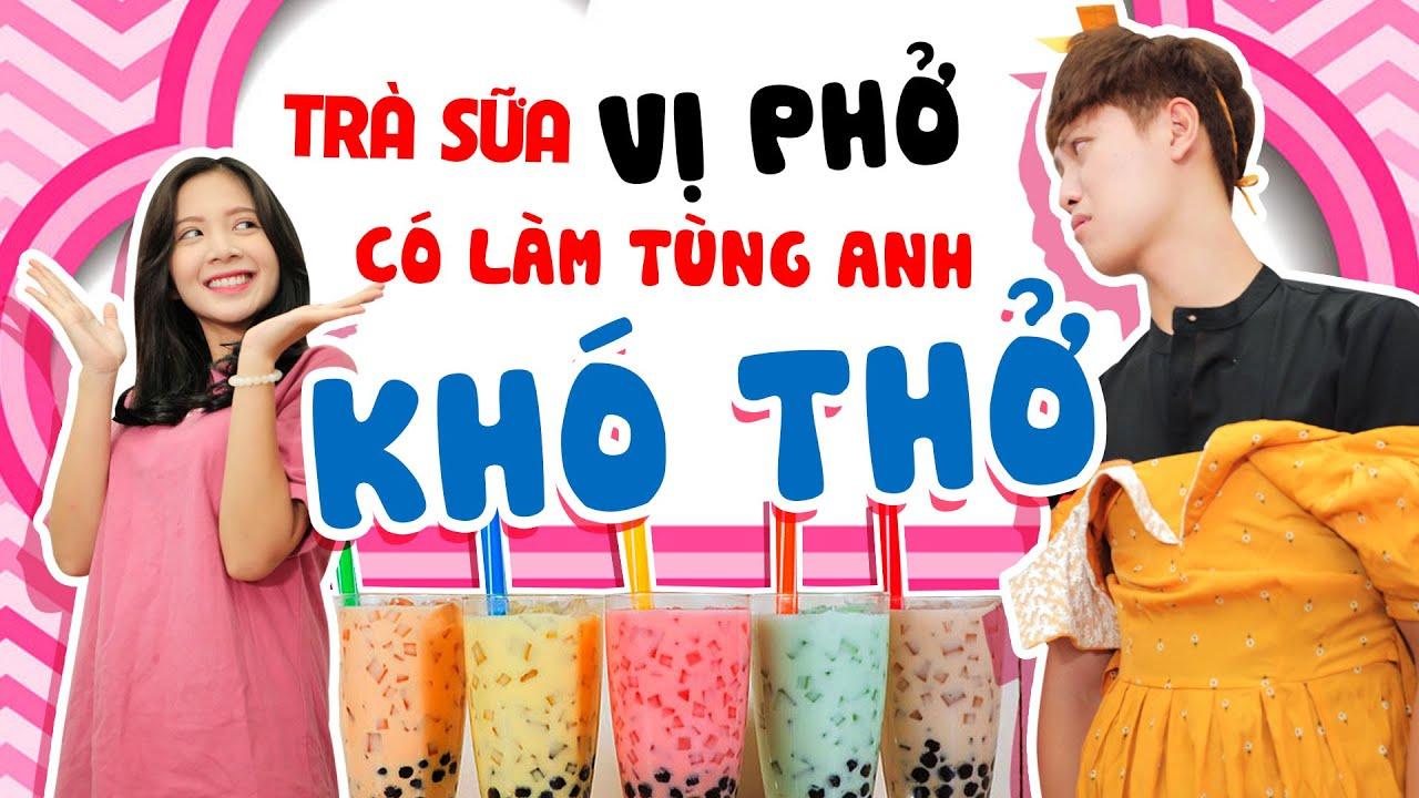 Huni Couple #2 | Trà Sữa Vị Phở Của Huyền Khiến Tùng Anh Ăn Tái Mặt