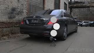 Тюнинг выхлопной системы Mercedes S500 W222