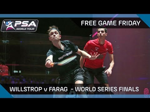 Squash: Free Game Friday - Willstrop v Farag - World Series Finals 2016/17