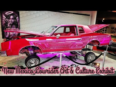New Mexico Lowrider Art & Culture Exhibit @ The Santa Fe Place Mall 2021