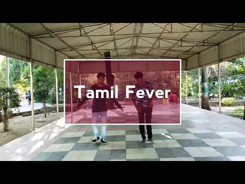 Tamil fever danced by Saba and Jai #Benny Dayal