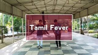 Tamil fever danced by Saba and Jai #Benny Dayal