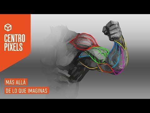 "Tutorial concept art #30 - ""Anatomía humana parte 4:  Brazos parte media (clase online 19-02-2019) thumbnail"